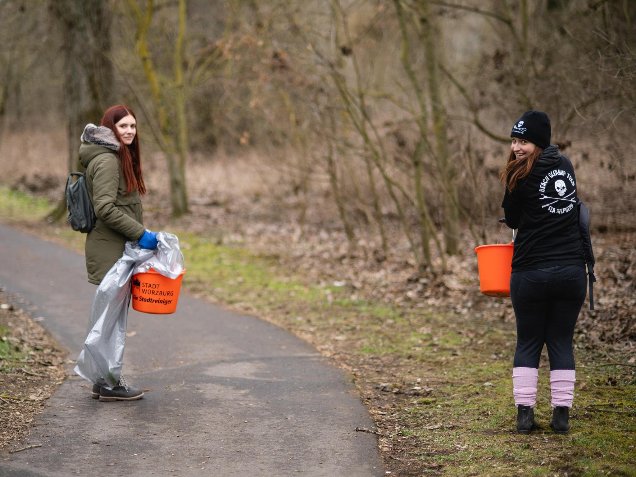 Fleißige Helfer waren unterwegs. Foto: Georg Hoos