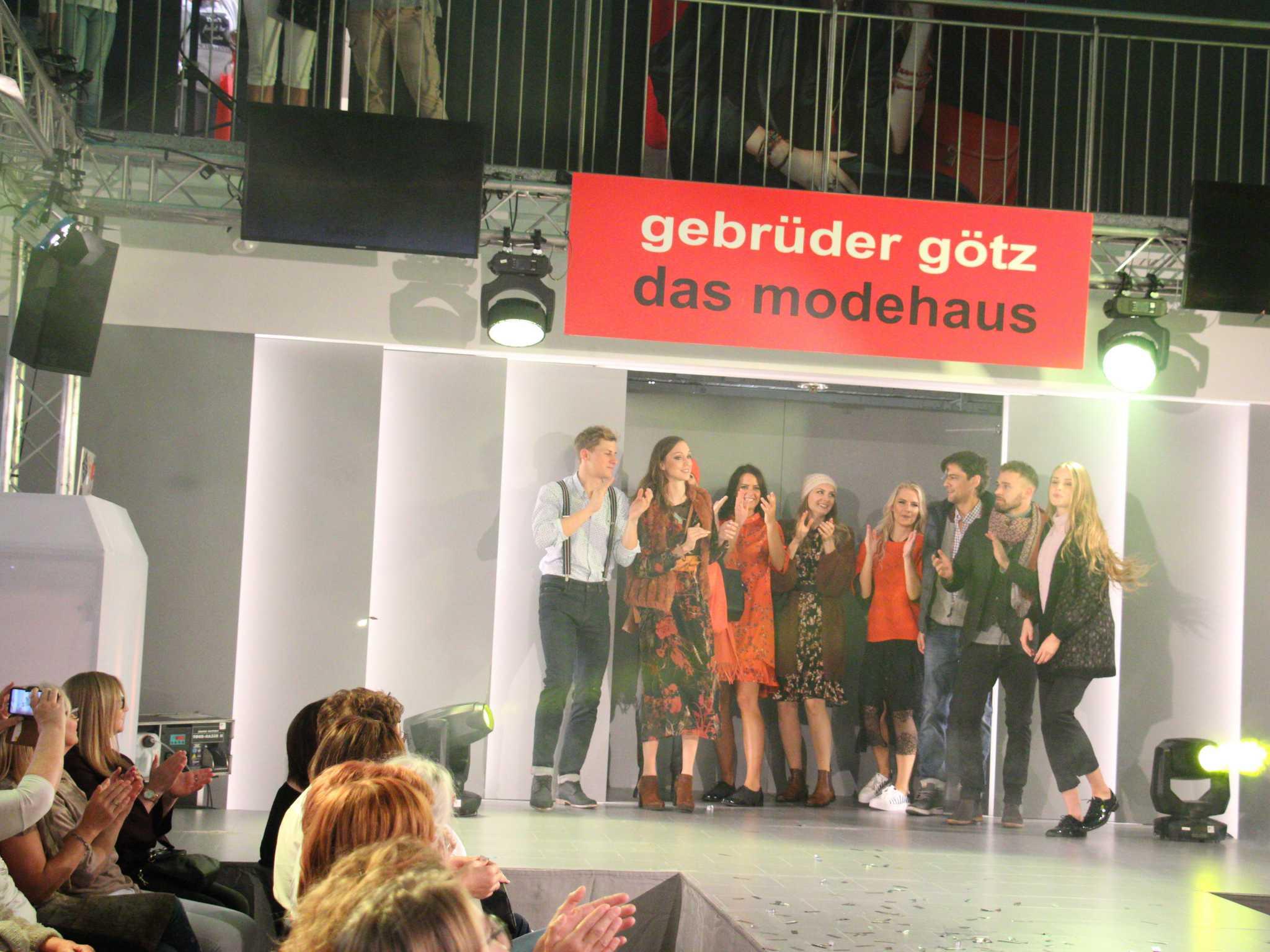 Modenschau im Modehaus Gebrüder Götz. Foto: Modehaus Gebrüder Götz