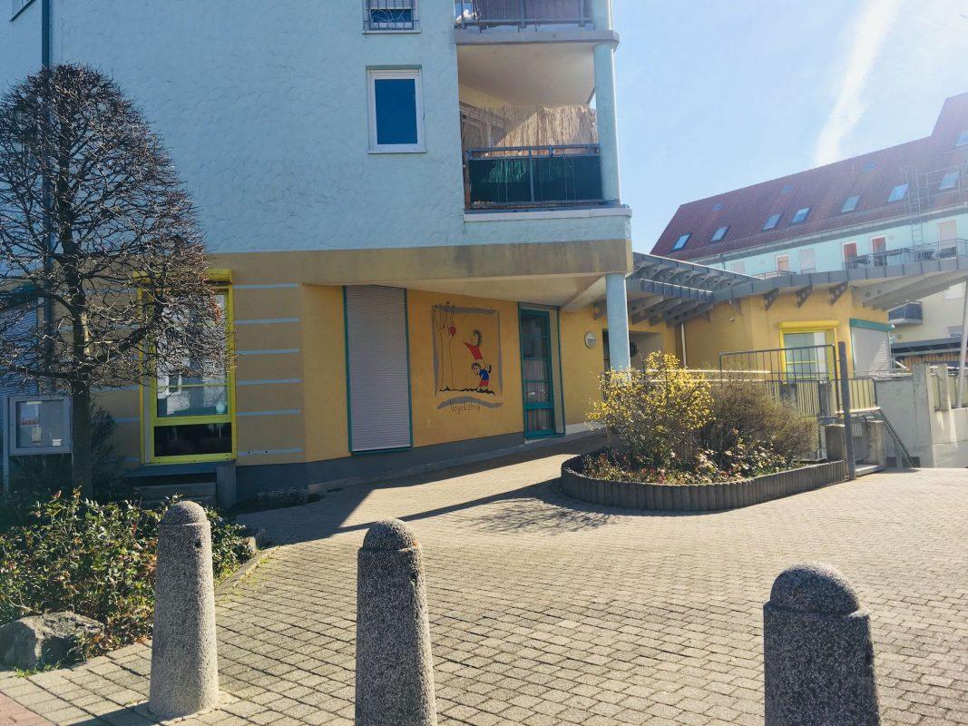 Unter anderem wurde eine Kindertagesstätte am Heuchelhof durchsucht. Foto: Pascal Höfig