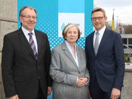 Peter Witterauf, Ursula Männle und Oliver Jörg (v.l.n.r.). Foto:© Hanns-Seidel-Stiftung