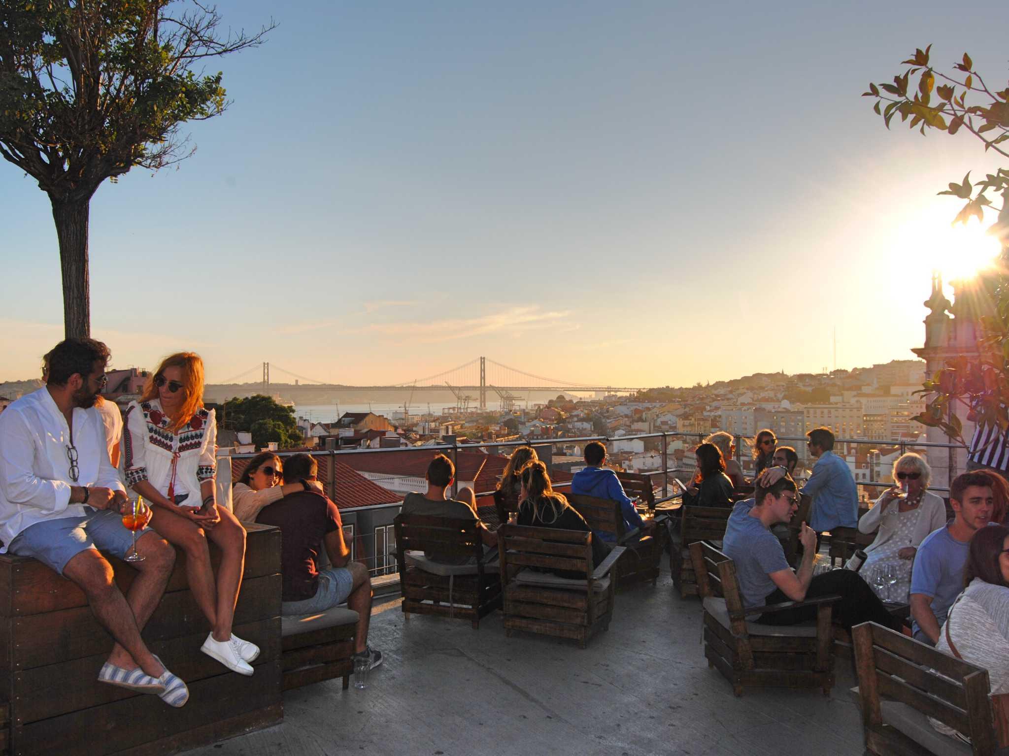 Die Park Bar in Lissabon. Foto: Nina Härtle