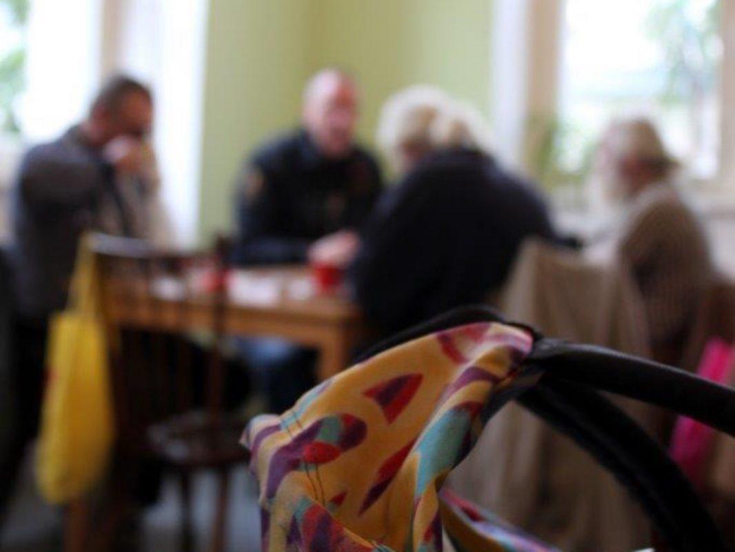 In der Wärmestube spielen neben der medizinischen und der Hygieneversorgung vor allem die sozialen Kontakte eine große Rolle. Foto: Wärmestube