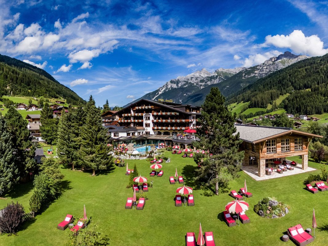 Entspannung pur in Südtirol. Foto: Relais & Châteaux SPA-HOTEL Jagdhof