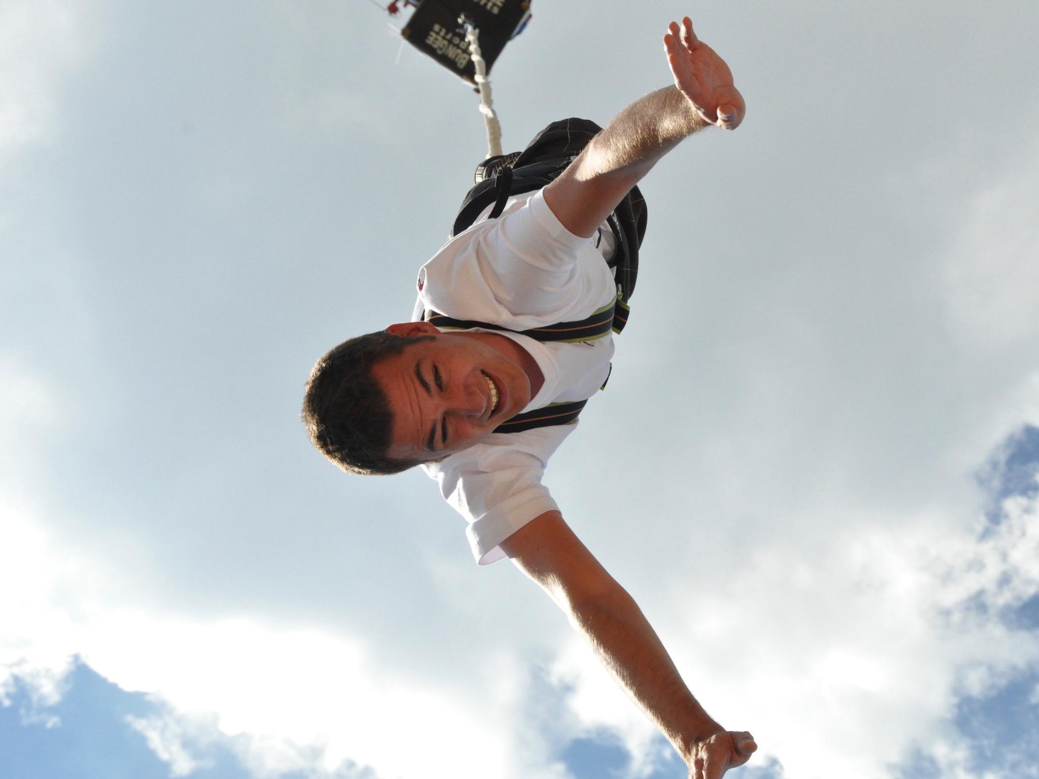 Bunte-Springen gibt einen Adrenalin-Kick. Foto: air4you