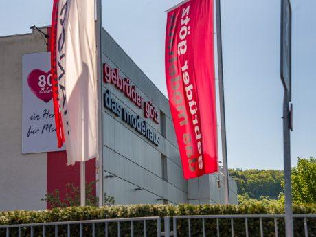 Modehaus Gebrüder Götz. Foto: Pascal Höfig