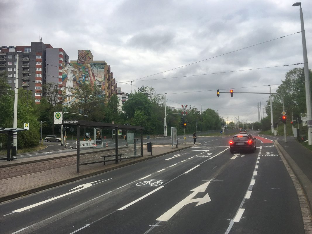 Die Heuchelhofstraße. Foto: Pascal Höfig