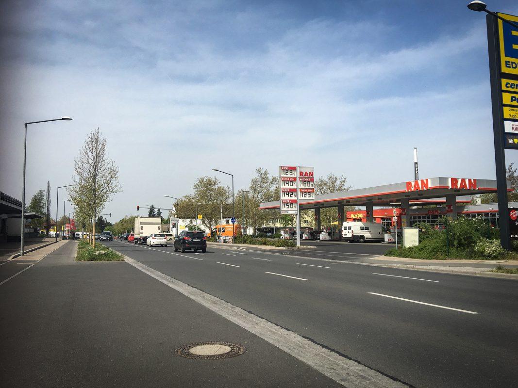 Die Nürnbergerstraße in Würzburg. Foto: Pascal Höfig