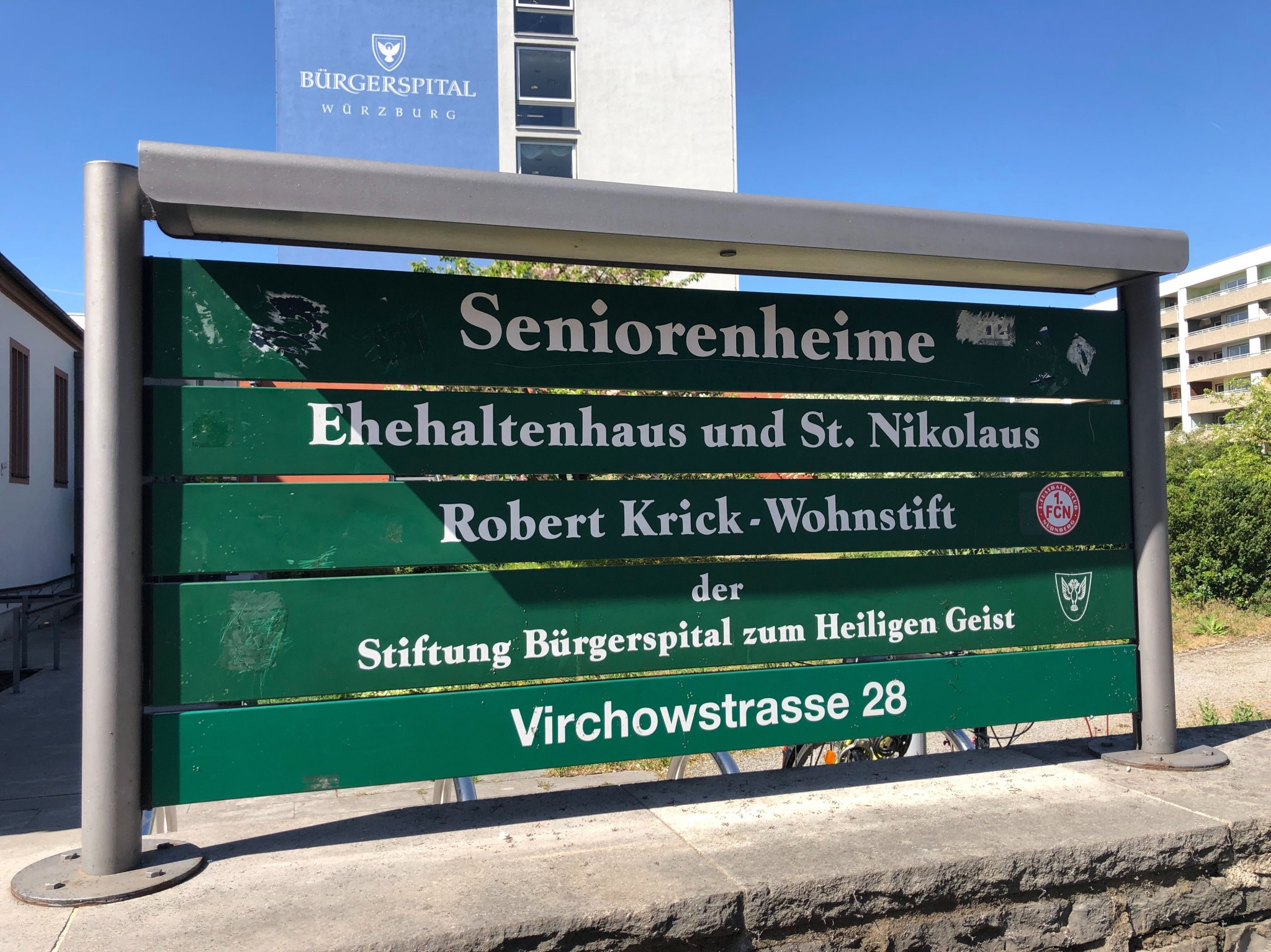 Wohnen hier wirklich nur Senioren? Foto: Sarah Willer