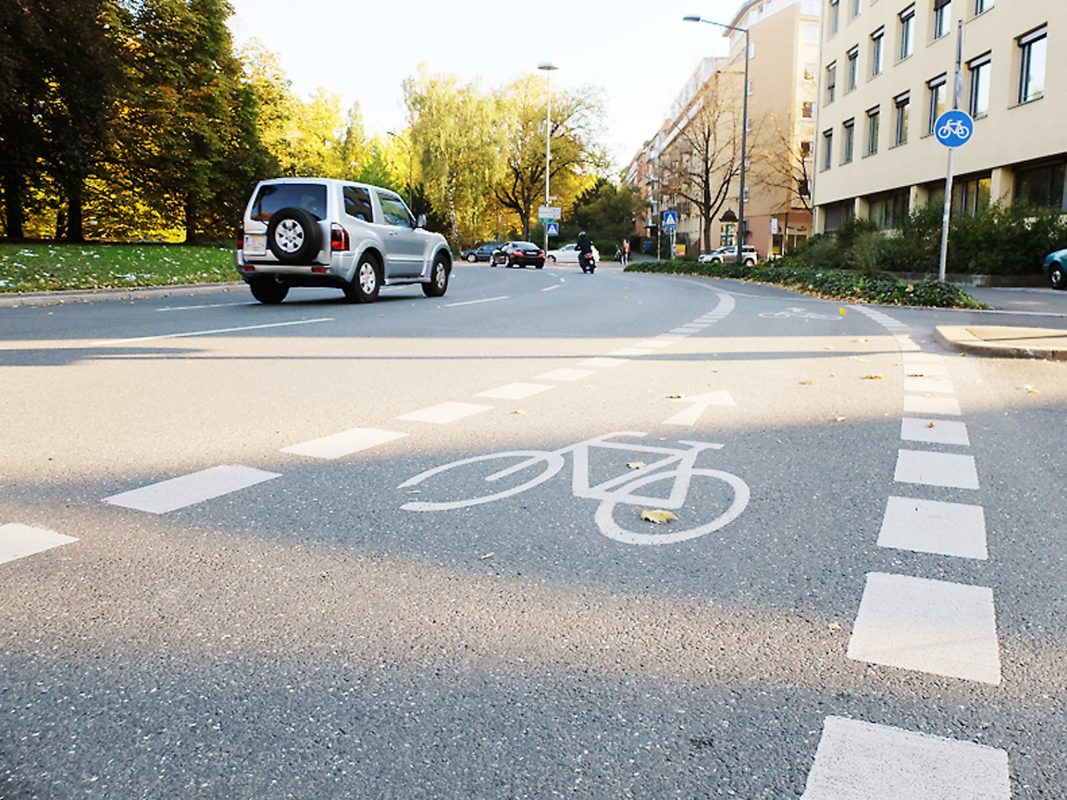 Fahrradweg in Würzburg. Symbolfoto: Pascal Höfig