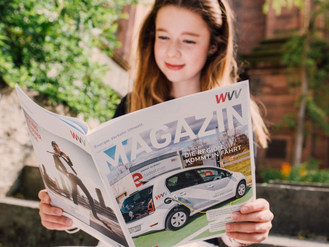Am 4. Mai 2019 erscheint das neue WVV Magazin. Foto: Pascal Höfig