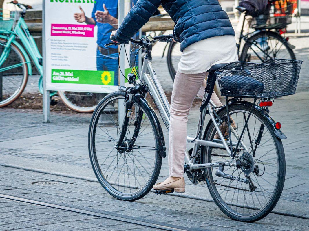 Fahrradfahrer. Symbolfoto: Pascal Höfig