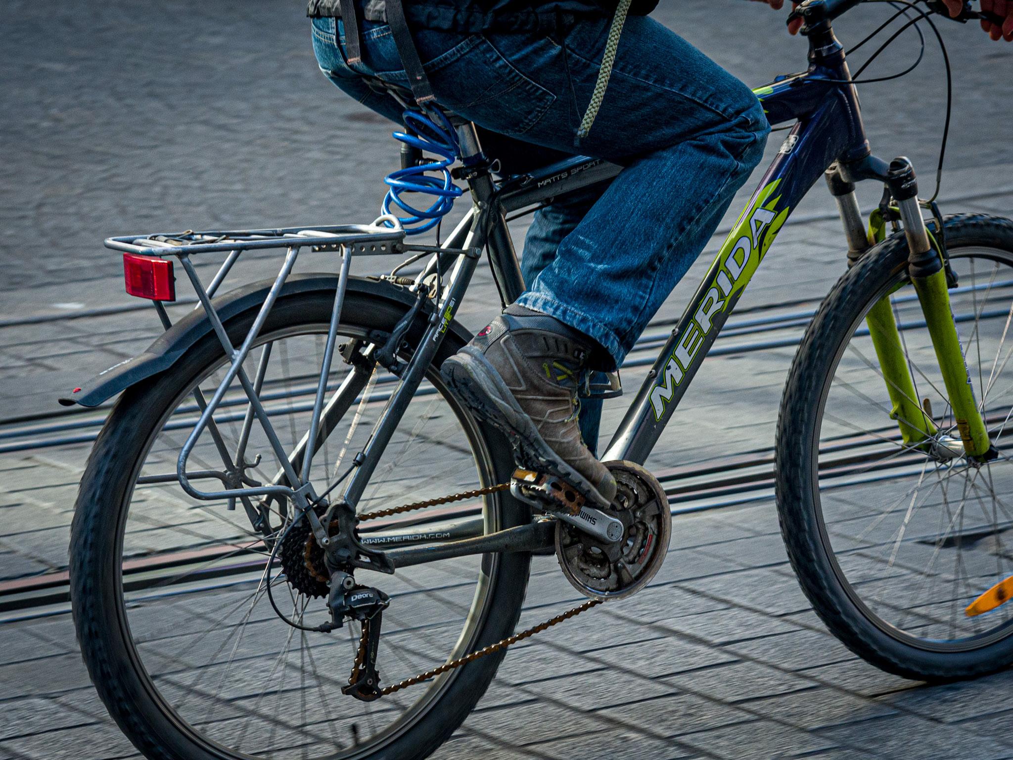 Die Fahrräder können bei der Radbörse auf Herz und Nieren getestet werden. Foto: Pascal Höfig