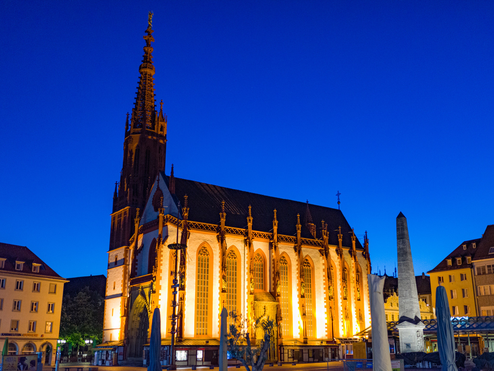 Marienkapelle auf dem Marktplatz. Foto: Pascal Höfig