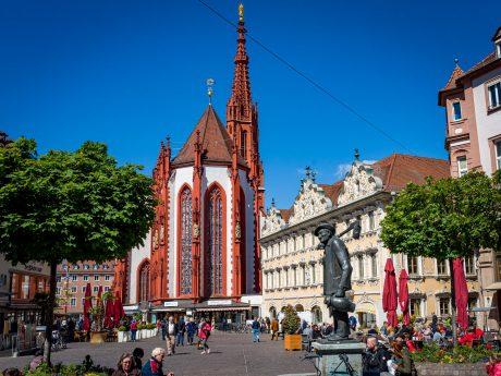 Würzburger Marktplatz. Foto: Pascal Höfig