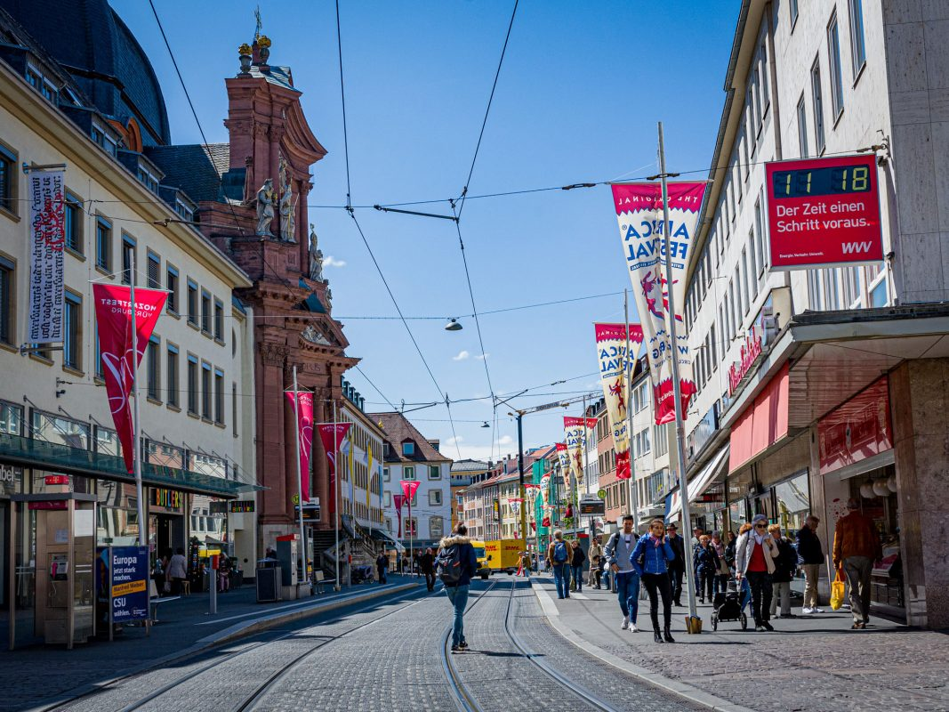 Schönbornstraße in Würzburg. Foto: Pascal Höfig