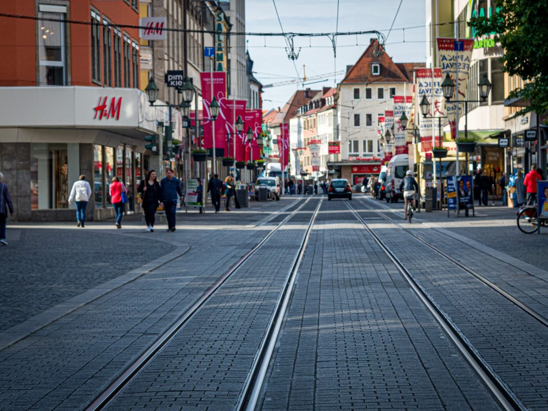 Die Schönbornstraße. Foto: Pascal Höfig