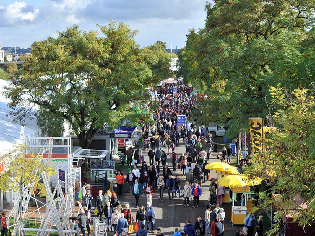 Die Mainfranken Messe lockt tausende Besucher an. Foto: Mainfranken Messe