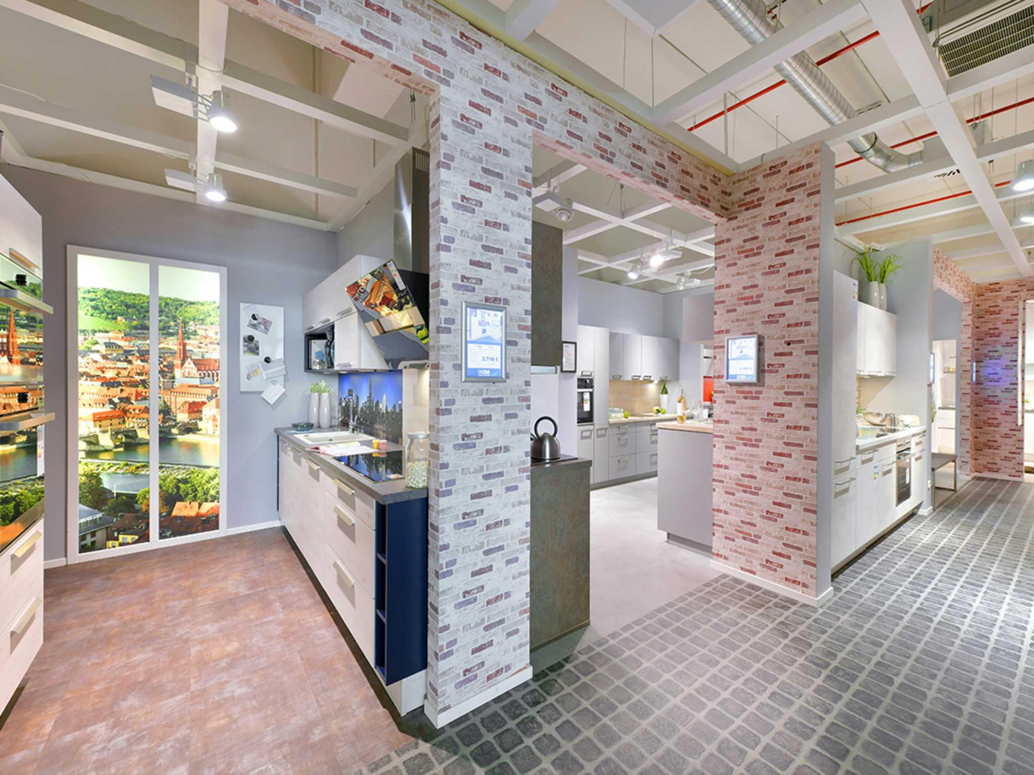 Unterschiedliche Küchen für jeden Geschmack im Küchenstudio MEDA in Würzburg. Foto: MEDA