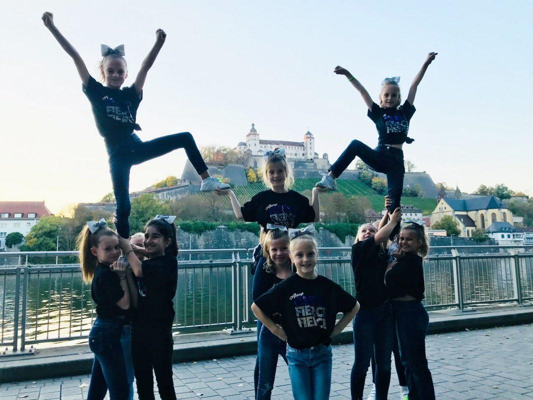 Die Fierce Athletics Cheerleader suchen Verstärkung. Foto: Fierce Athletics