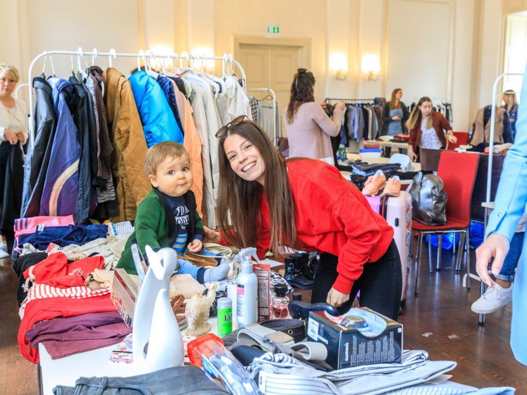 Der Fashion Love Flohmarkt im Obergeschoss des B. Neumann. Foto: Ronja Jäger