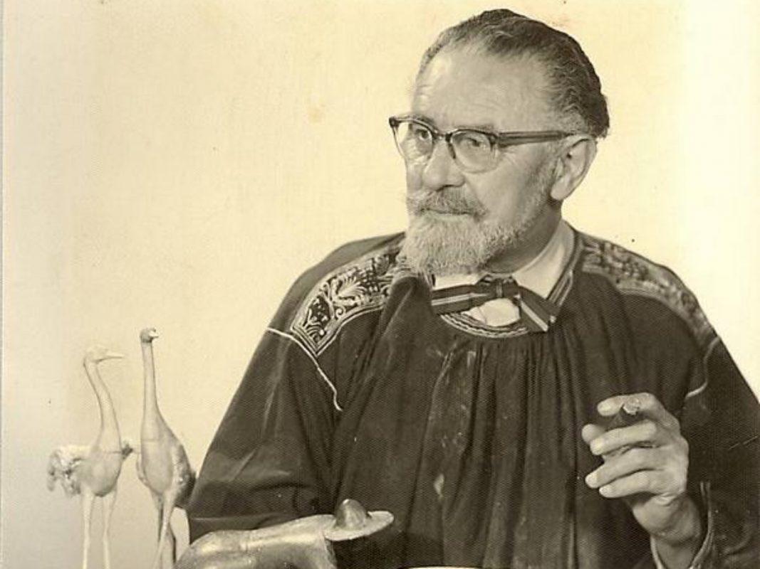 Fried Heuler, eines der Aushängeschilder der mainfränkischen Plastik. Archiv: Willi Dürrnagel