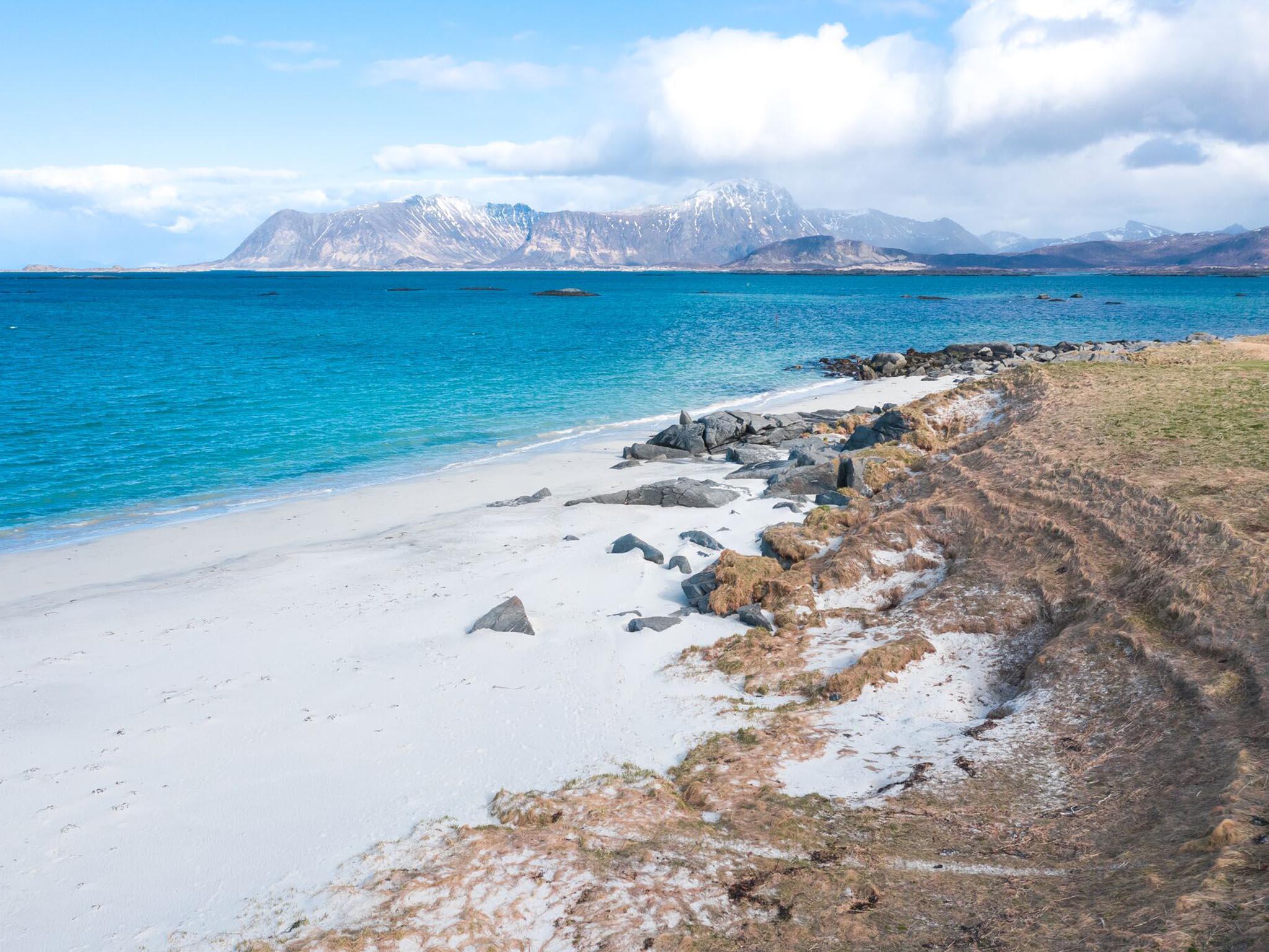 Der Strand bei Eggum. Foto: Hupp Photography.