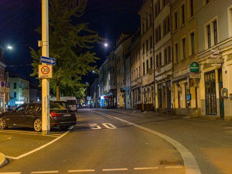 Die Juliuspromenade in Würzburg. Foto: Pascal Höfig