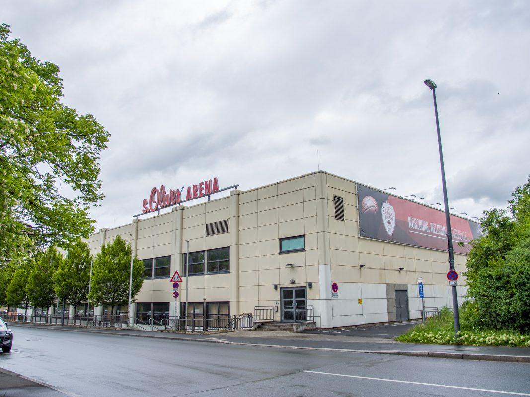 Die s.Oliver Arena. Foto: Pascal Höfig