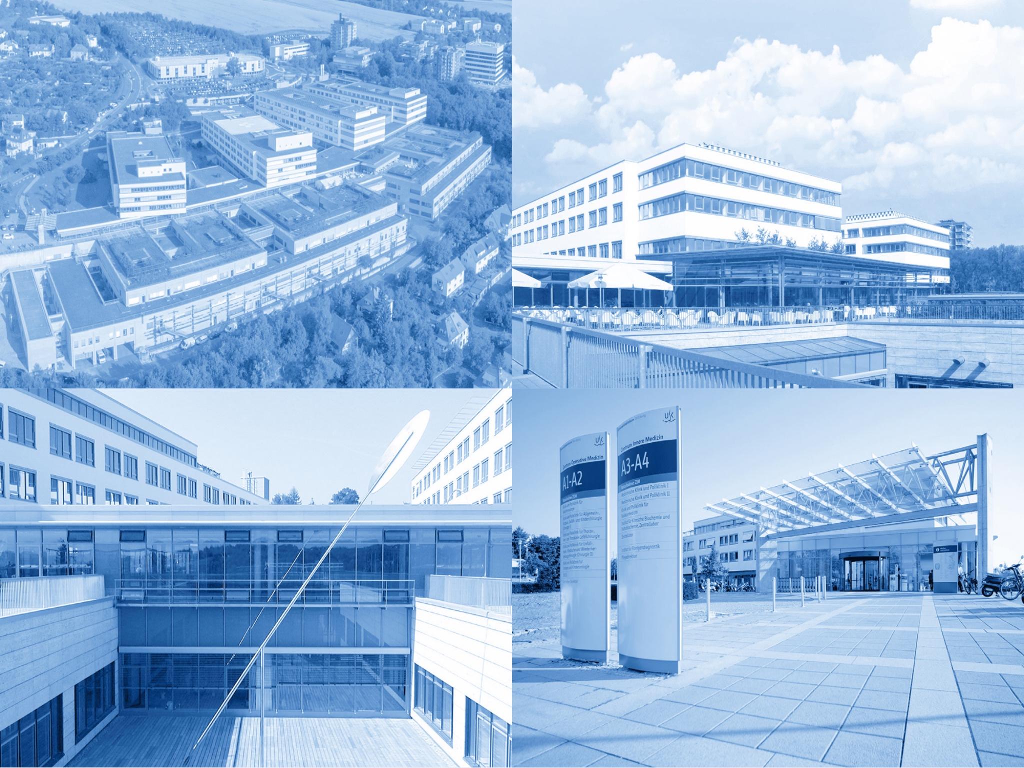 Das Doppelzentrum für Operative und Innere Medizin des Uniklinikums Würzburg. Foto: Uniklinikum Würzburg
