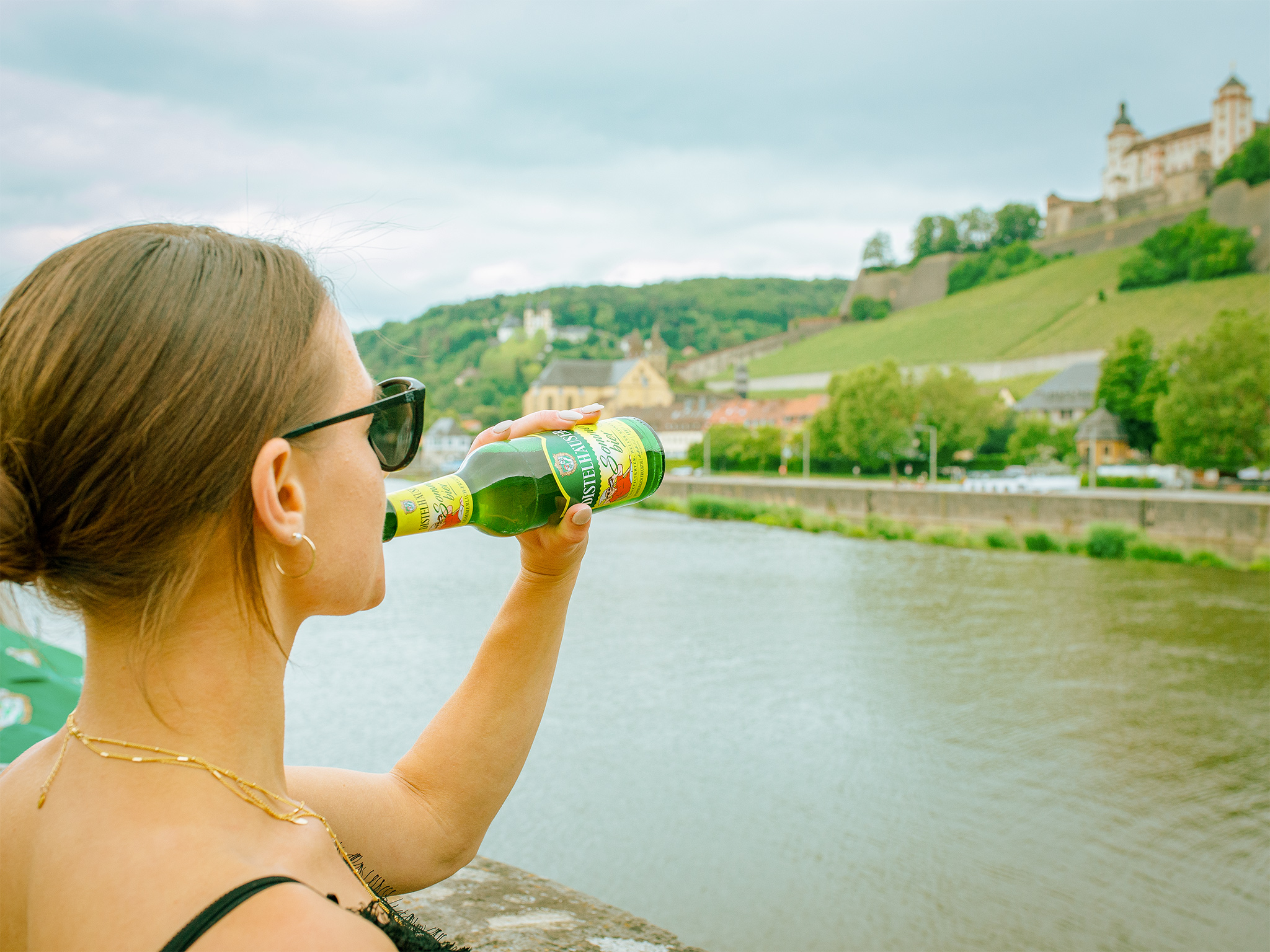 Das Sommerbier der Distelhäuser Brauerei. Foto: Pascal Höfig