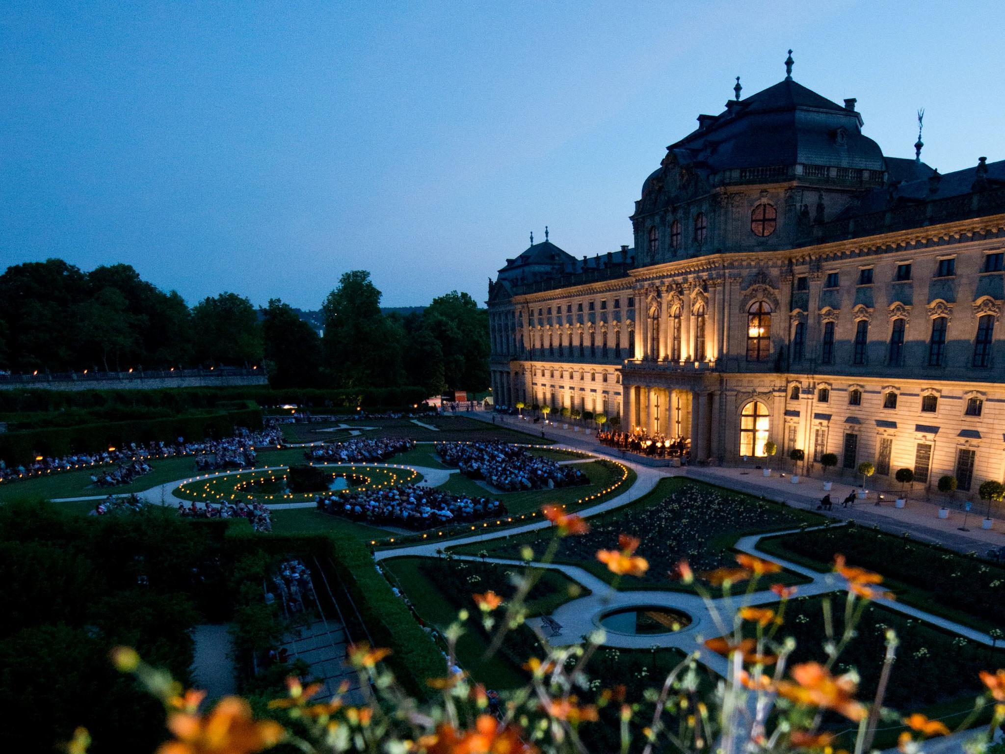 Die Nachtmusik auf dem Mozartfest. Foto: Daniel Peter