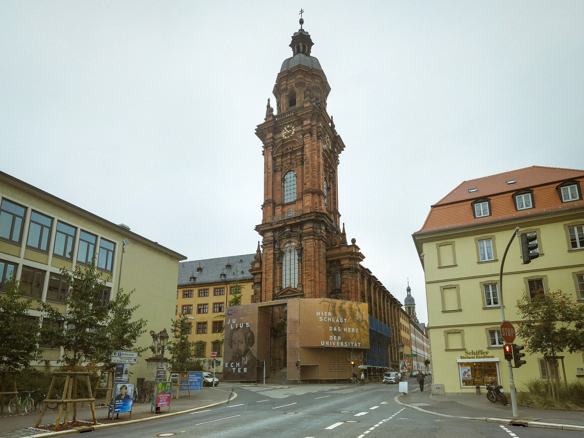 Die Neubaukirche im September 2017. Foto: Pascal Höfig