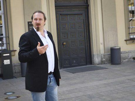 OB-Kandidat der Linken: Sebastian Roth. Foto: Thomas Palmai, Die Linke