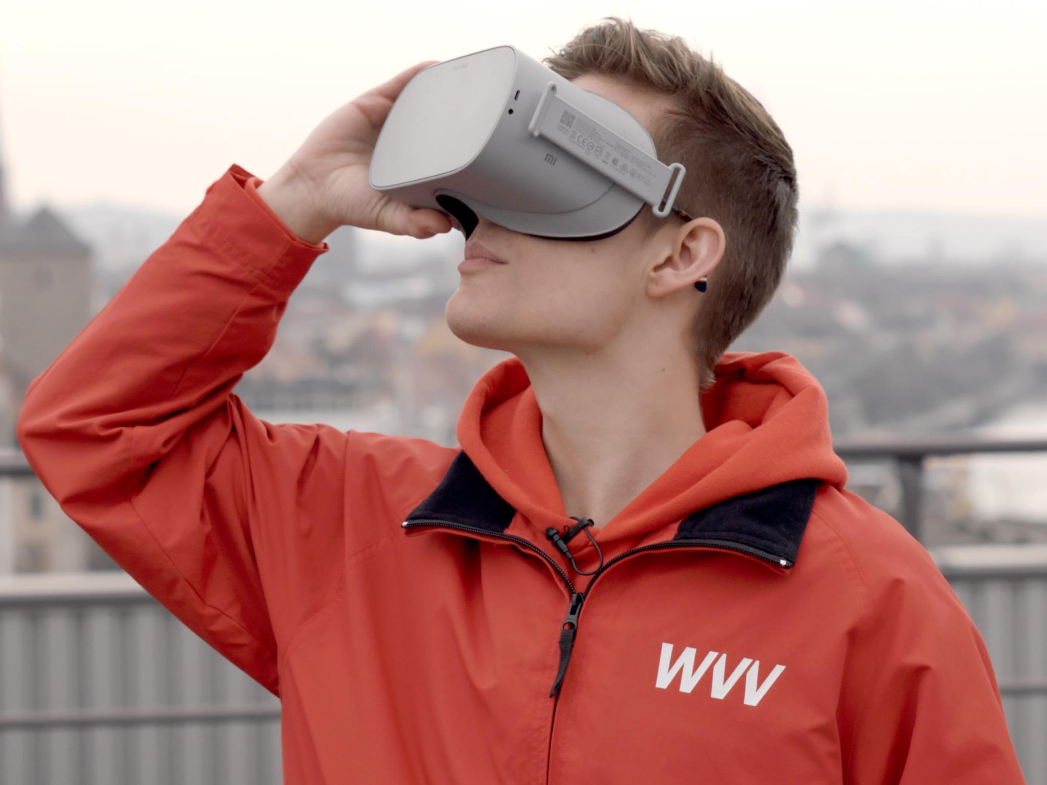 Mit Virtual Reality hautnah dabei sein! Foto: WVV