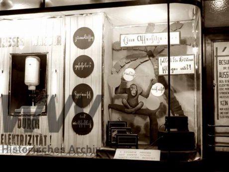Werbung aus dem Jahr 1929. Foto: Historisches Archiv WVV