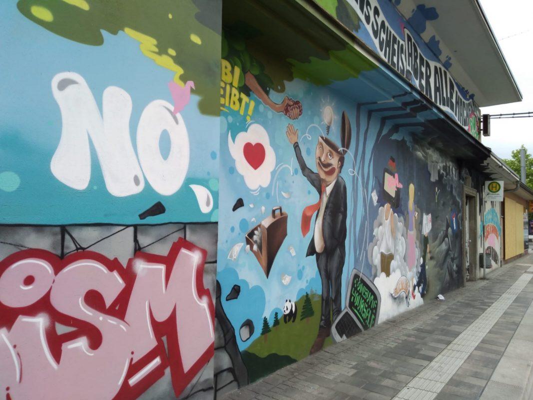 Streetart in der Zellerau. Foto: Jessica Hänse