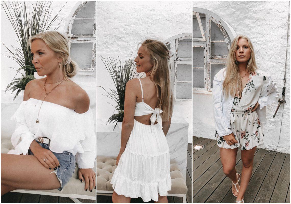 Off-Shoulder, kleines Weißes oder Flower-Print? Foto: Avenue Clothing