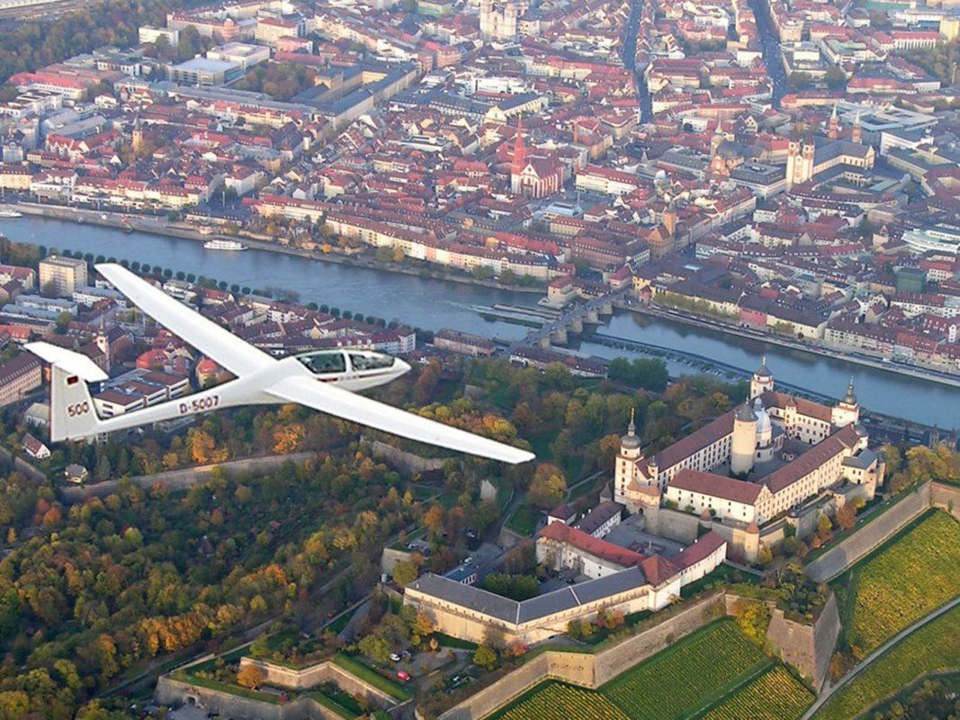 Würzburg fliegt 2019. Foto:  Flugsport-Clubs Würzburg.