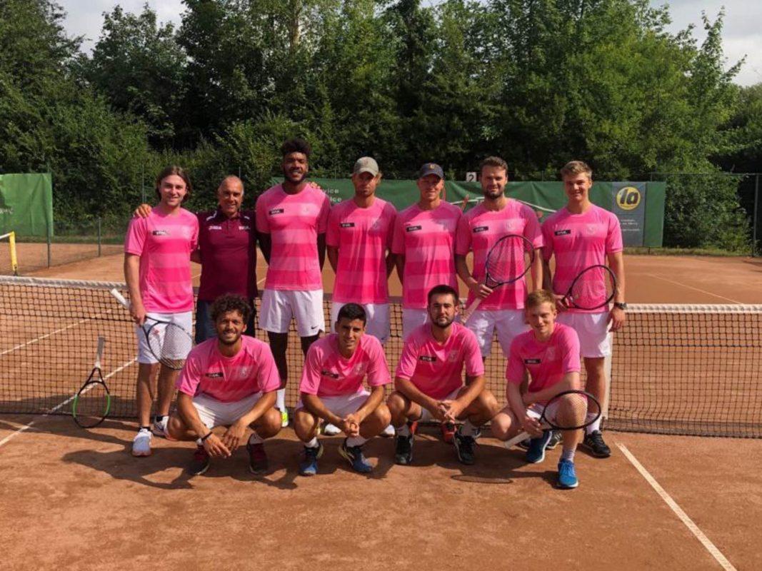 Tennis, Mannschaftsfoto