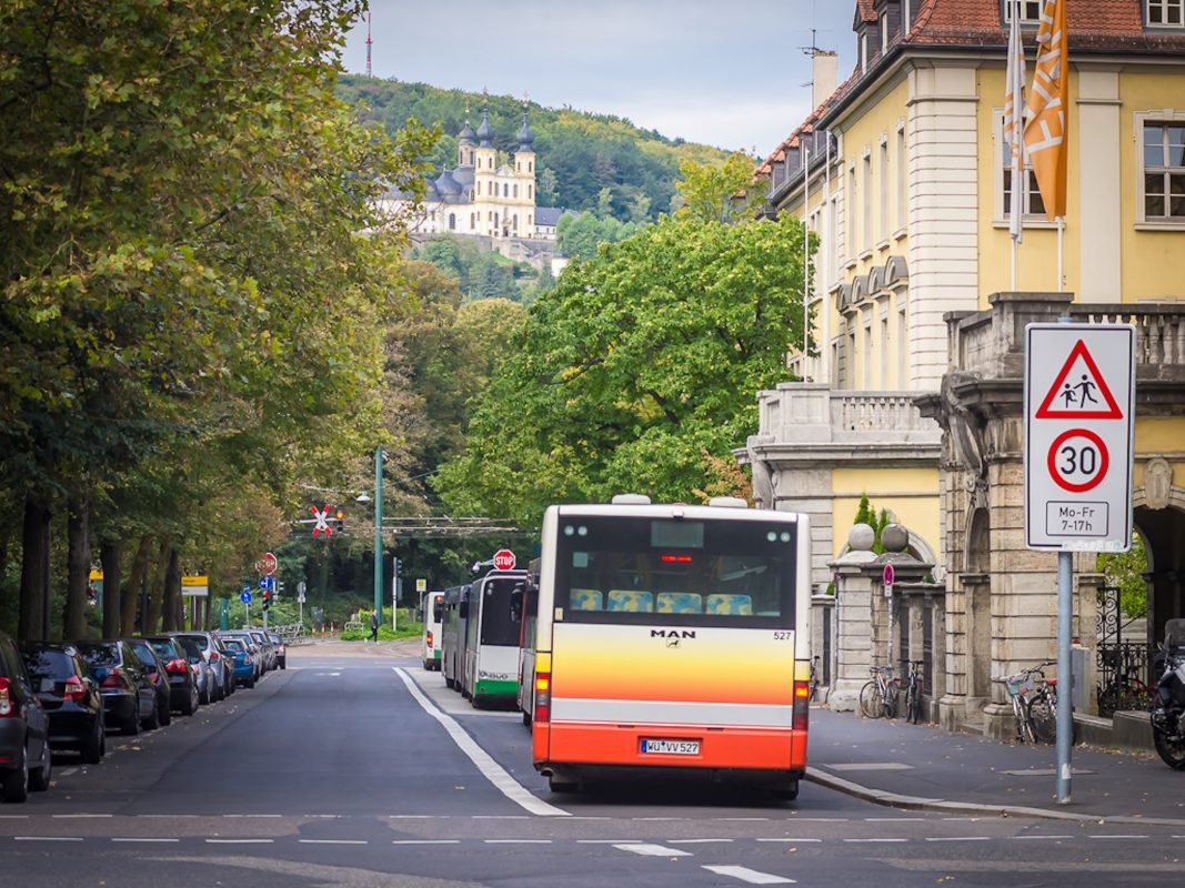 Bus am Sanderring. Foto: Pascal Höfig