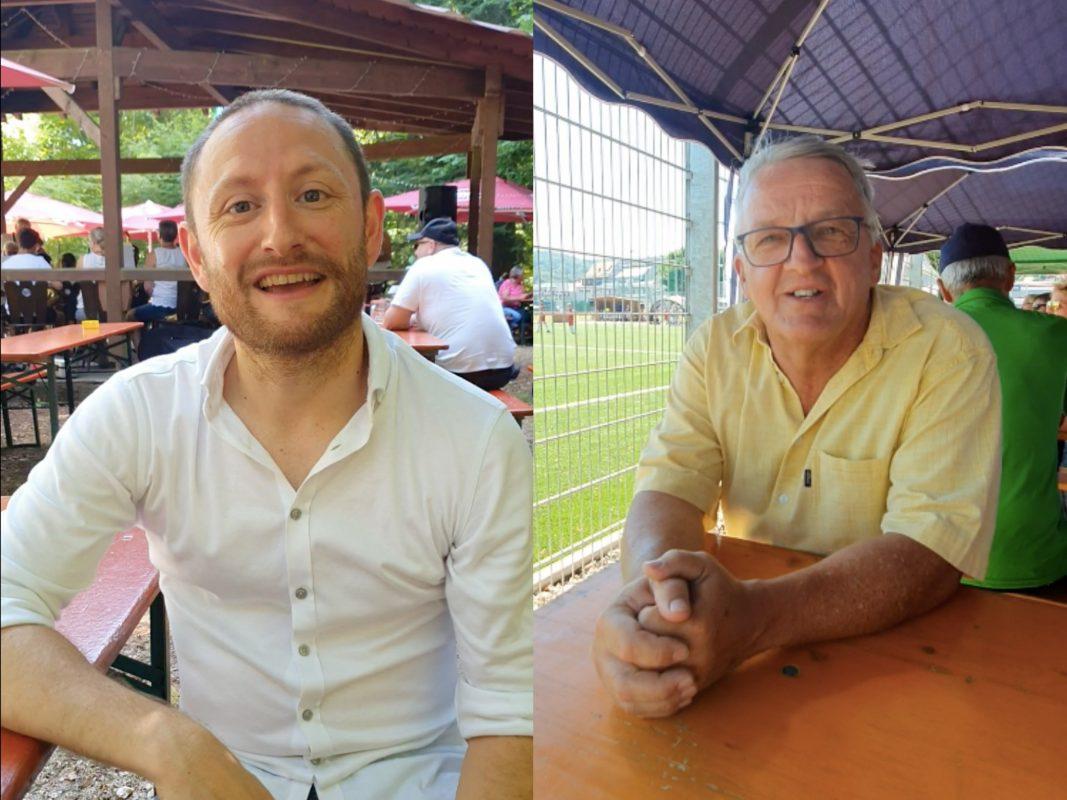 Marc Steigerwald & Hans Lembach. Fotos: Amelie Reigl