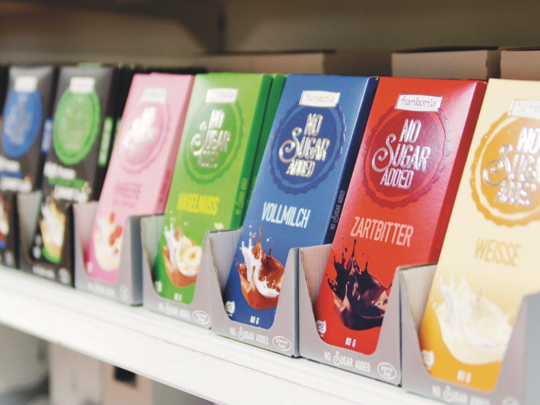 PPPPPPPPP KUNDEN NICHT VERWENDEN Schokolade in allen Variationen. Foto: Frankonia Schokoladenwerke GmbH