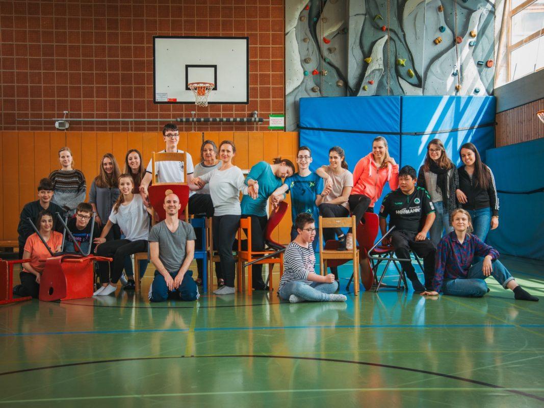 Tanzmannschaft inklusives Tanzprojekt Foto: Pascal Höfig