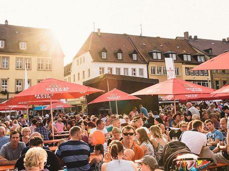 Das Schweinfurter Stadtfest. Foto: Pascal Höfig