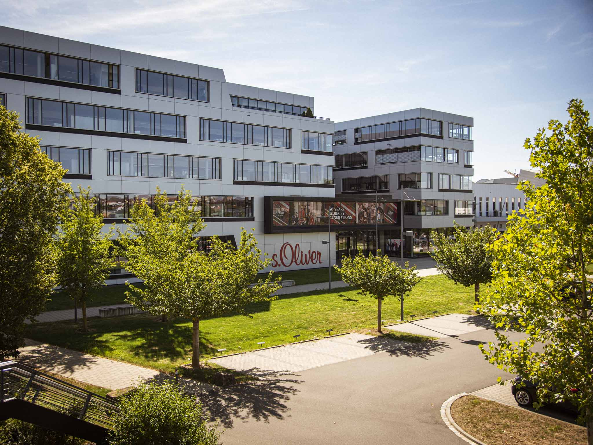 Das s.Oliver Headquarter in Rottendorf. Foto: Dominik Ziegler