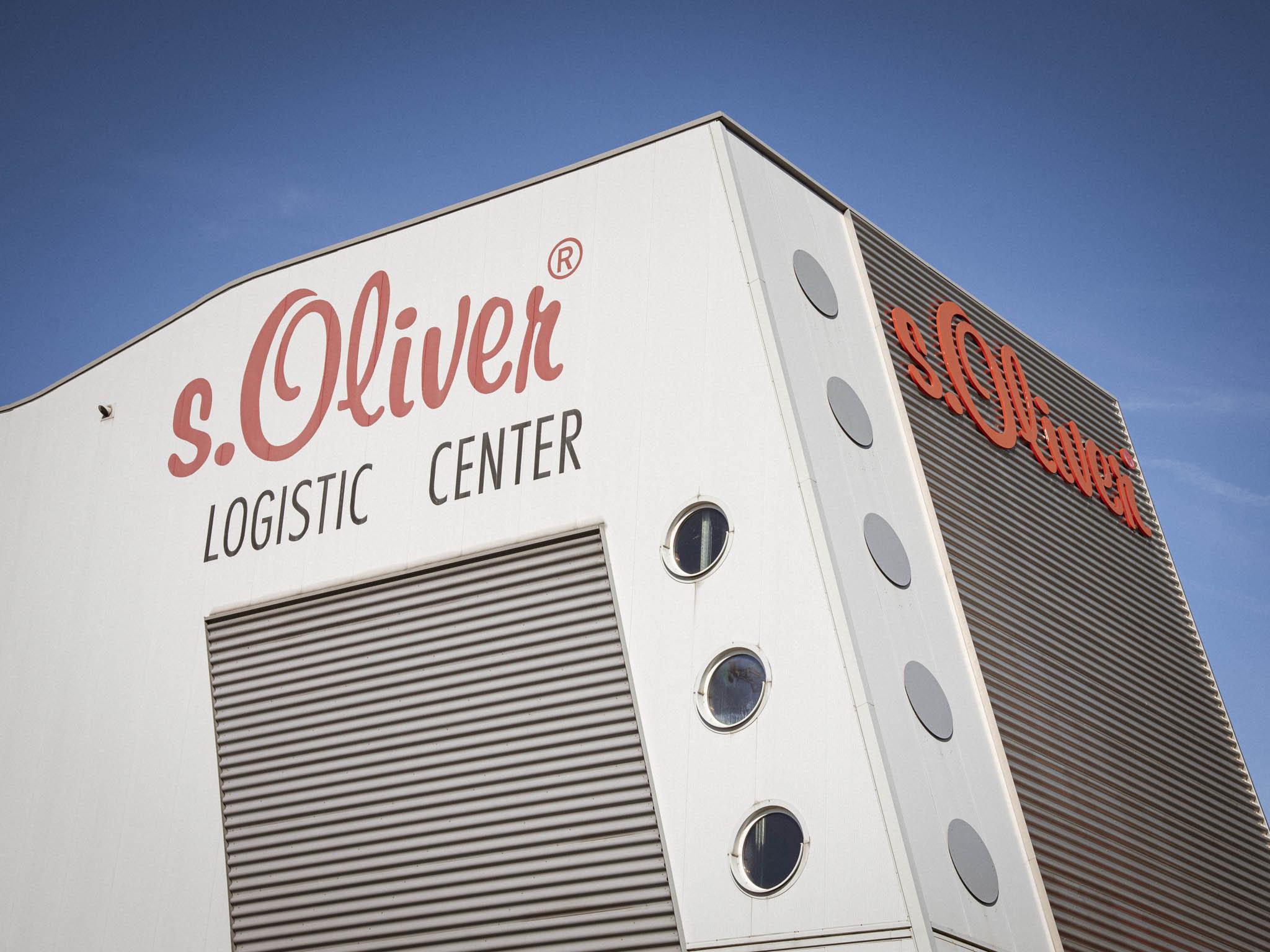 Das s.Oliver Logistic Center in Rottendorf. Foto: Dominik Ziegler