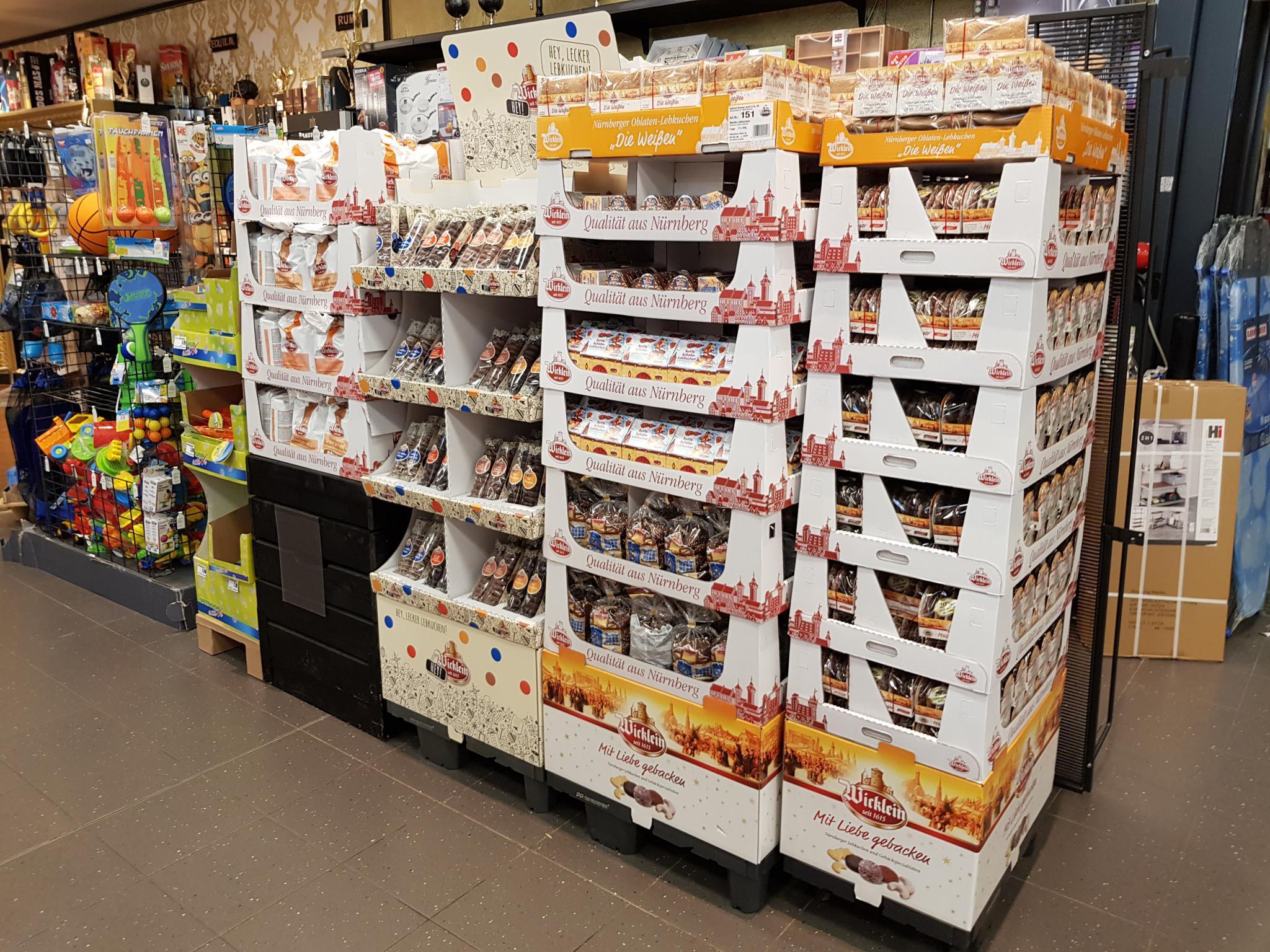 Erste Lebkuchen im Supermarkt. Foto: Dirk Flieger