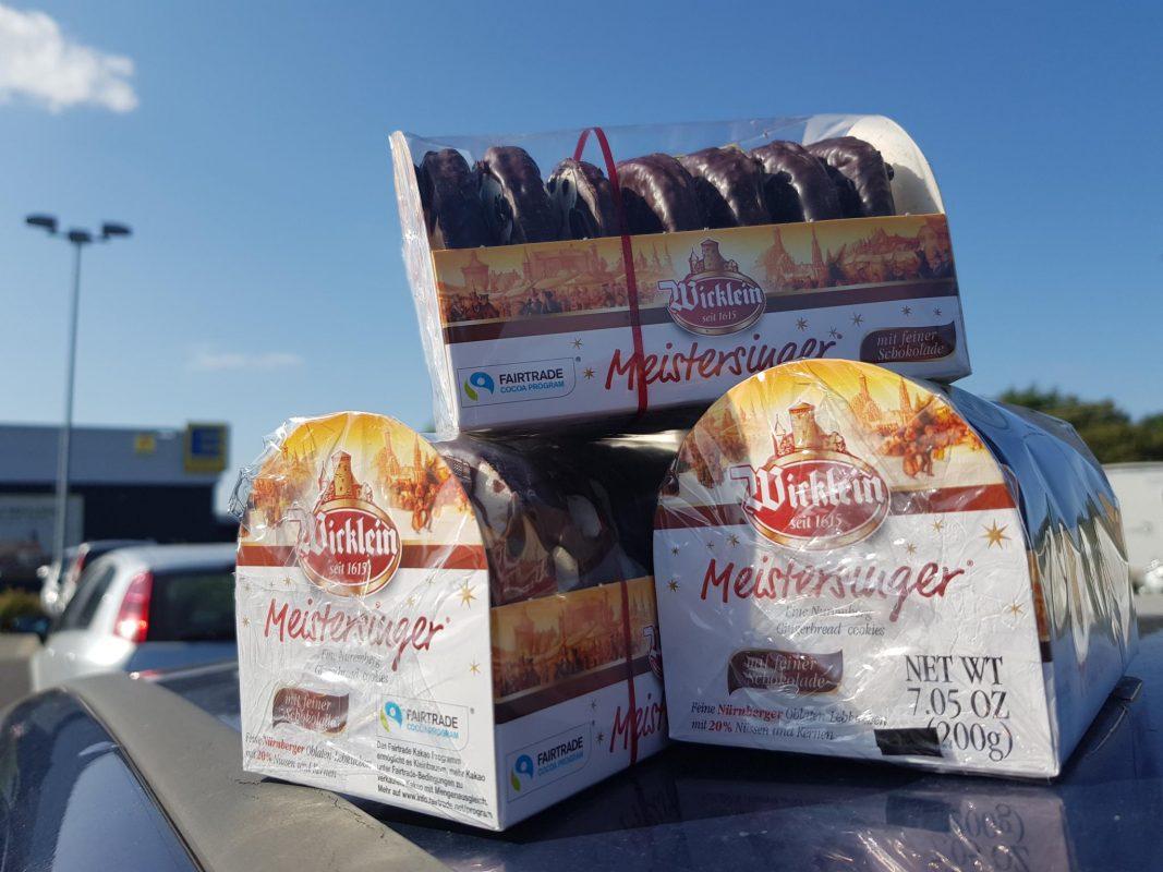 Erste Lebkuchen in Volkach gesichtet. Foto: Dirk Flieger