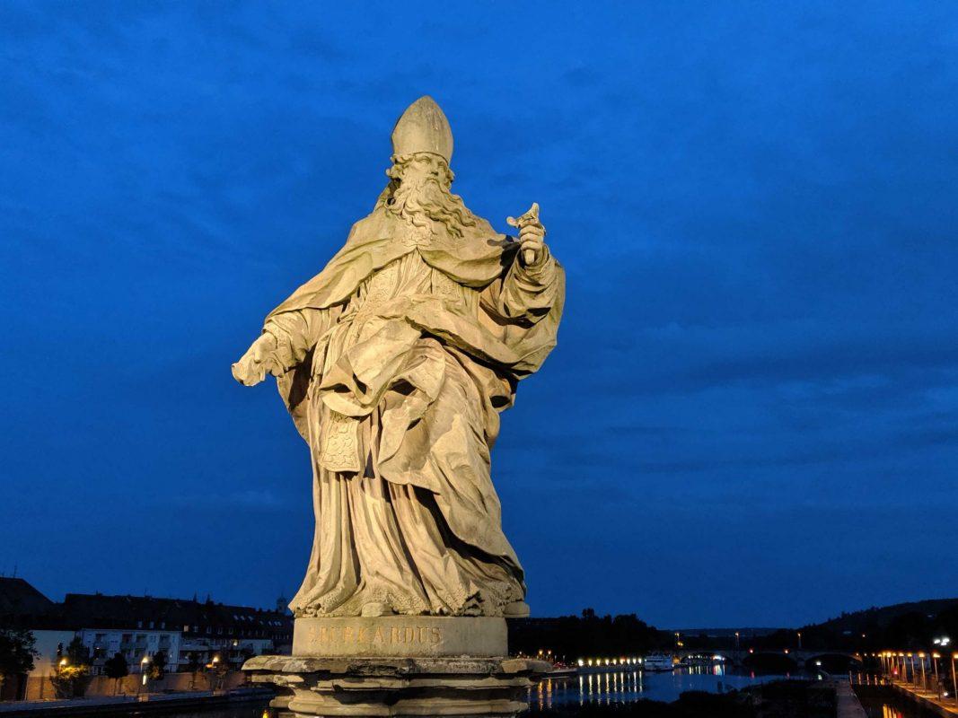 St. Burkard ohne Schwert. Foto: Christian J. Papay