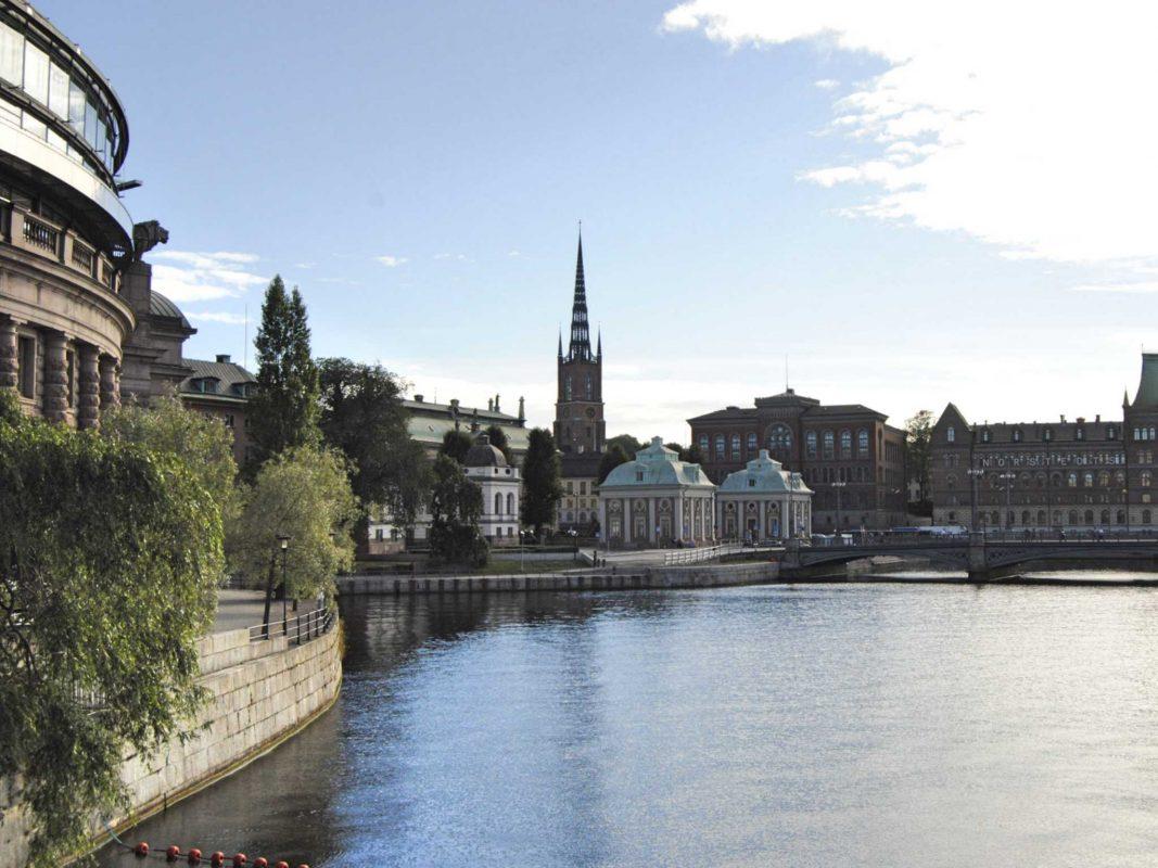 Stockholm - die Stadt am Wasser. Foto: Nina Härtle